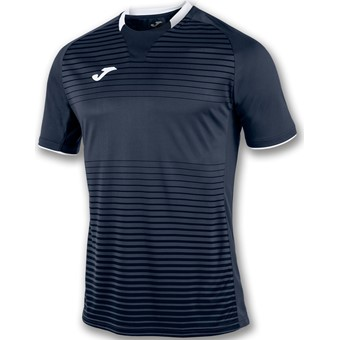 Picture of Joma Galaxy Shirt Korte Mouw - Marine / Wit