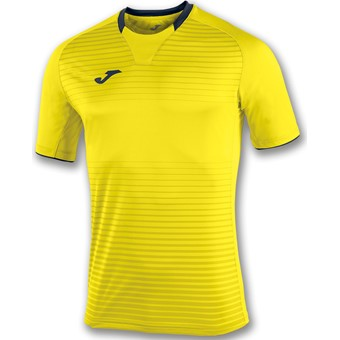Picture of Joma Galaxy Shirt Korte Mouw - Geel / Marine