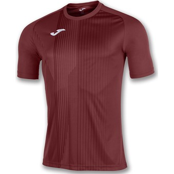 Picture of Joma Tiger Shirt Korte Mouw - Bordeaux