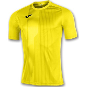 Picture of Joma Tiger Shirt Korte Mouw - Geel