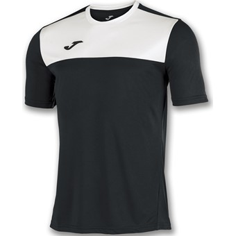 Picture of Joma Winner Shirt Korte Mouw - Zwart / Wit