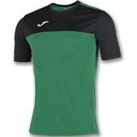 Joma Winner Shirt Korte Mouw Kinderen - Groen / Zwart