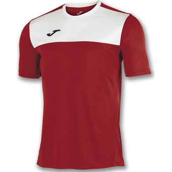 Picture of Joma Winner Shirt Korte Mouw - Rood / Wit