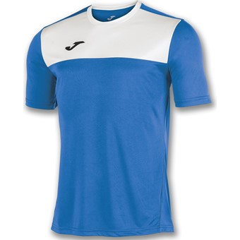 Picture of Joma Winner Shirt Korte Mouw - Royal / Wit