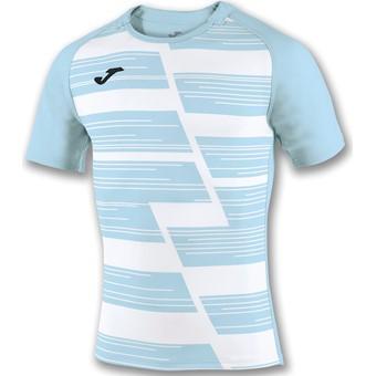 Picture of Joma Haka Rugbyshirt Kinderen - Wit / Hemelsblauw