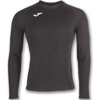 Joma Brama Fleece Shirt Lange Mouw - Zwart