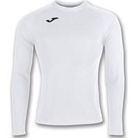 Joma Brama Fleece Shirt Lange Mouw - Wit