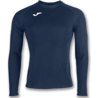 Picture of Joma Brama Fleece Shirt Lange Mouw - Marine