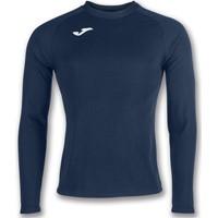 Joma Brama Fleece Shirt Lange Mouw - Marine