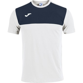 Picture of Joma Winner T-shirt Kinderen - Wit / Marine