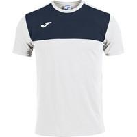 Joma Winner T-shirt Kinderen - Wit / Marine