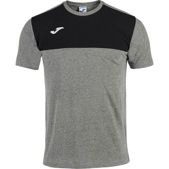 Picture of Joma Winner T-shirt Kinderen - Grijs Gemeleerd / Zwart