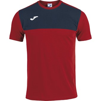 Picture of Joma Winner T-shirt Kinderen - Rood / Marine