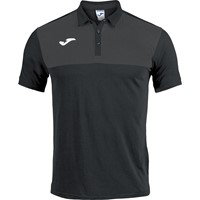 Joma Winner Polo - Zwart / Antraciet