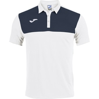 Picture of Joma Winner Polo - Wit / Marine