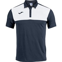 Joma Winner Polo Kinderen - Marine / Wit