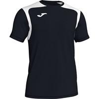 Joma Champion V Shirt Korte Mouw - Zwart / Wit