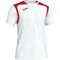 Joma Champion V Shirt Korte Mouw Kinderen - Wit / Rood
