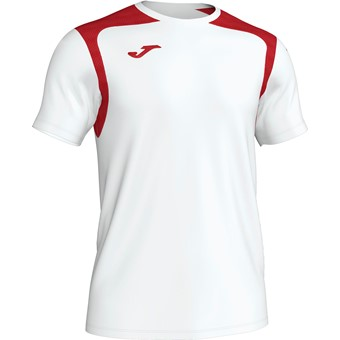 Picture of Joma Champion V Shirt Korte Mouw - Wit / Rood