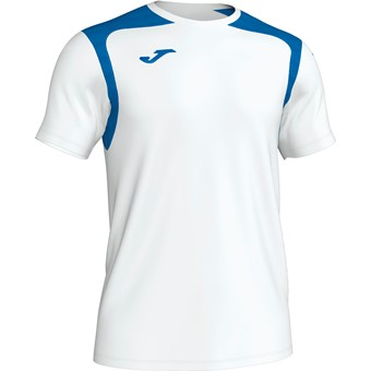 Picture of Joma Champion V Shirt Korte Mouw Kinderen - Wit / Royal