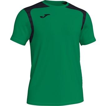 Picture of Joma Champion V Shirt Korte Mouw Kinderen - Groen / Zwart