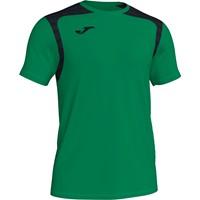 Joma Champion V Shirt Korte Mouw Kinderen - Groen / Zwart