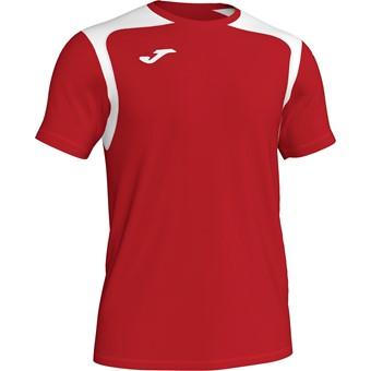 Picture of Joma Champion V Shirt Korte Mouw Kinderen - Rood / Wit