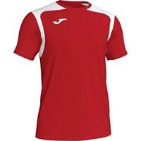 Joma Champion V Shirt Korte Mouw Kinderen - Rood / Wit