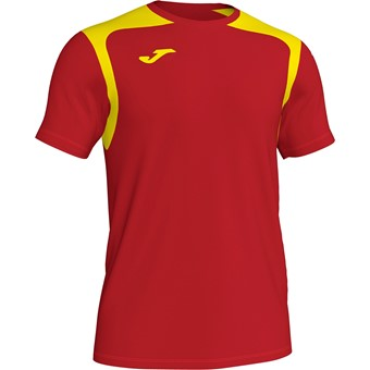 Picture of Joma Champion V Shirt Korte Mouw Kinderen - Rood / Geel