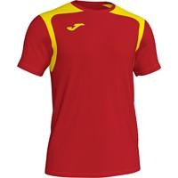 Joma Champion V Shirt Korte Mouw Kinderen - Rood / Geel