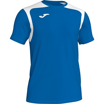Picture of Joma Champion V Shirt Korte Mouw - Royal / Wit