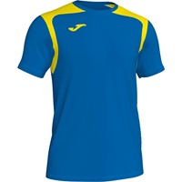 Joma Champion V Shirt Korte Mouw - Royal / Geel