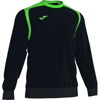 Joma Champion V Sweater Kinderen - Zwart / Fluo Groen