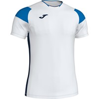 Joma Crew III T-shirt - Wit / Marine / Rood