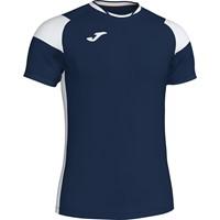 Joma Crew III T-shirt Kinderen - Marine / Wit