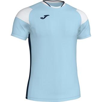 Picture of Joma Crew III T-shirt Kinderen - Hemelsblauw / Marine / Wit
