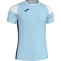 Joma Crew III T-shirt Kinderen - Hemelsblauw / Marine / Wit