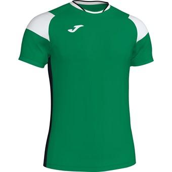 Picture of Joma Crew III T-shirt Kinderen - Groen / Zwart / Wit