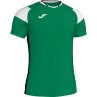 Joma Crew III T-shirt Kinderen - Groen / Zwart / Wit