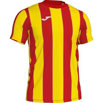 Picture of Joma Inter Shirt Korte Mouw Kinderen - Rood / Geel