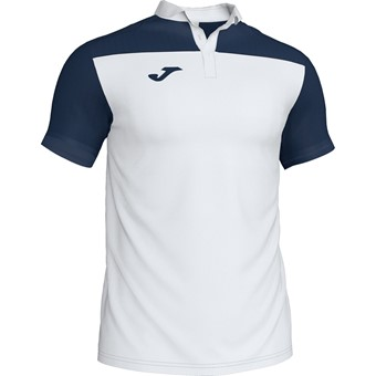 Picture of Joma Crew III Polo Kinderen - Wit / Marine