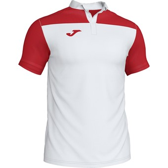 Picture of Joma Crew III Polo - Wit / Rood