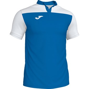 Picture of Joma Crew III Polo Kinderen - Royal / Wit