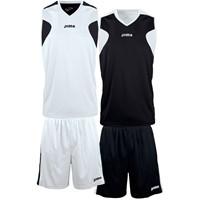 Joma Reversible Basketbalset Kinderen - Wit / Zwart