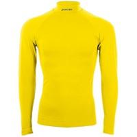 Joma Brama Classic Shirt Opstaande Kraag - Geel
