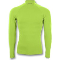 Joma Brama Classic Shirt Opstaande Kraag - Fluo Groen