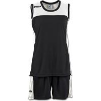 Joma Space II Basketbalset Dames - Zwart / Wit