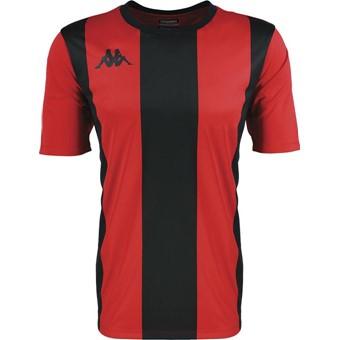 Picture of Kappa Caserne Shirt Korte Mouw - Rood / Zwart