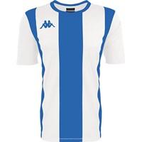 Kappa Caserne Shirt Korte Mouw - Wit / Royal
