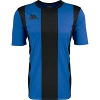 Kappa Caserne Shirt Korte Mouw - Royal / Zwart